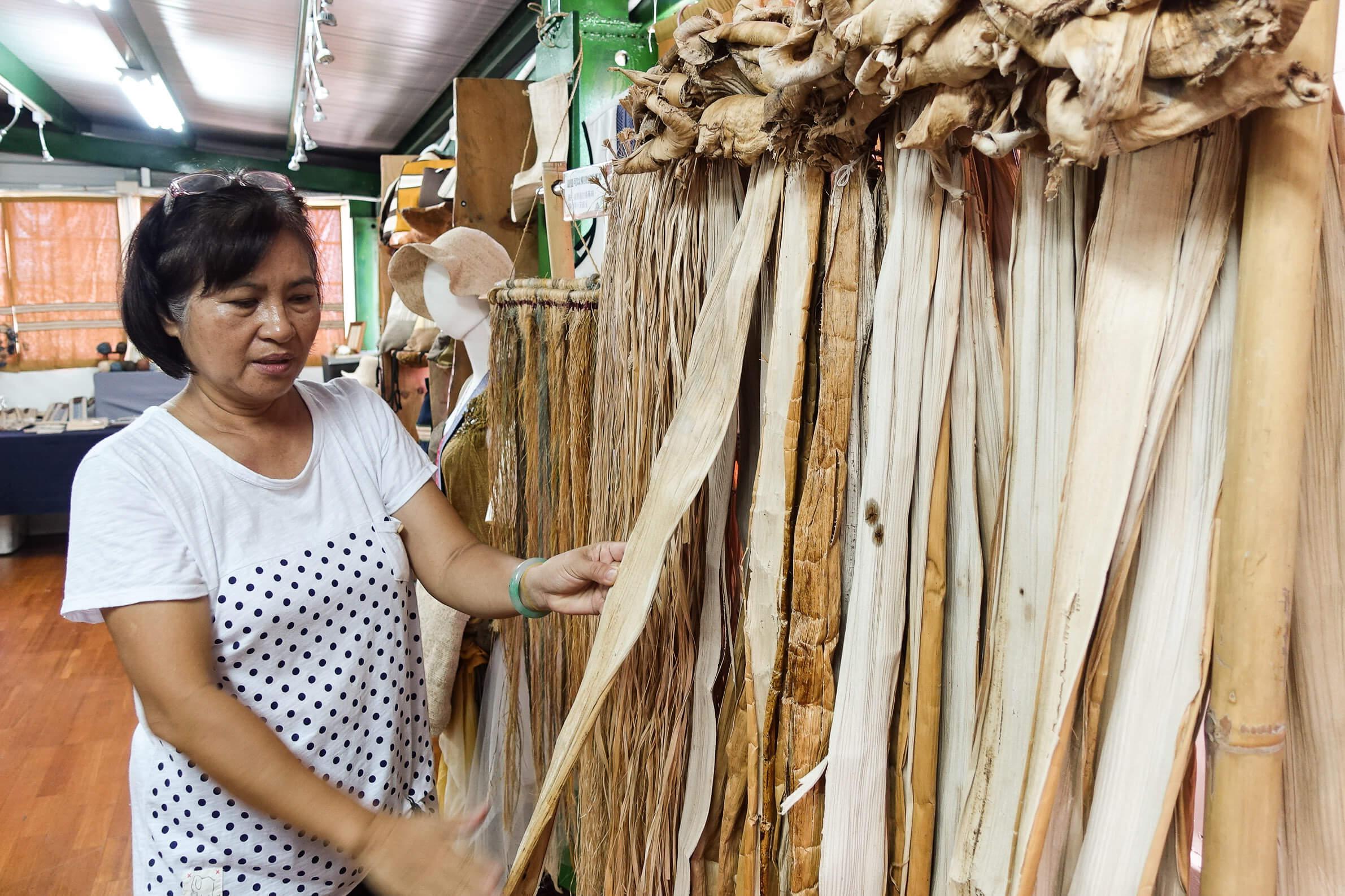 圖2-香蕉絲工藝